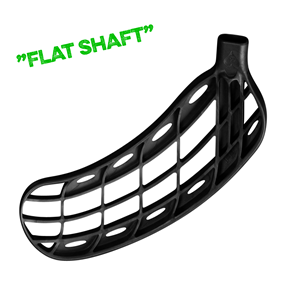 FATPIPE ORC FLAT METALLIC BLACK, MEDIUM RIGHT