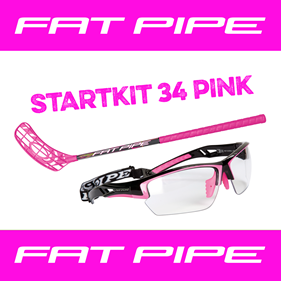 FATPIPE STARTKIT 34 PINK 65CM LEFT