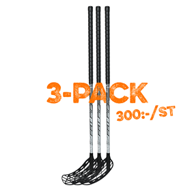 FATPIPE COMET RAW PE 27 3-PACK 101CM LEFT