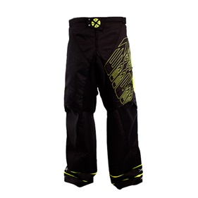 EXEL G1 GOALIE PANT BLACK/YELLOW XXL