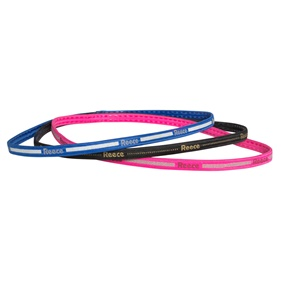 REECE NO SLIP HAIRBAND SET 3PCS BLUE/BLACK/PINK