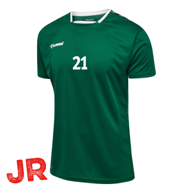 HUMMEL AUTHENTIC POLY JERSEY SS EVERGREEN JR 116 CL