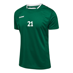 HUMMEL AUTHENTIC POLY JERSEY SS EVERGREEN L