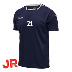 HUMMEL AUTHENTIC POLY JERSEY SS MARINE JR 116 CL
