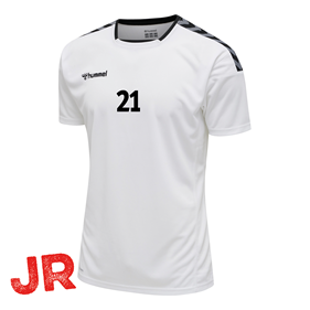 HUMMEL AUTHENTIC POLY JERSEY SS WHITE JR 116 CL