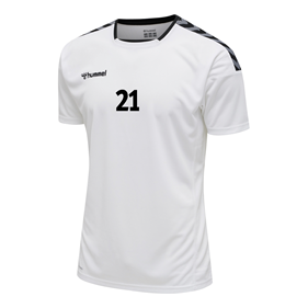 HUMMEL AUTHENTIC POLY JERSEY SS WHITE L
