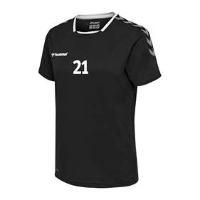 HUMMEL AUTHENTIC POLY JERSEY WN´S SS BLACK L