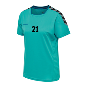 HUMMEL AUTHENTIC POLY JERSEY WN´S SS BLUEBIRD L