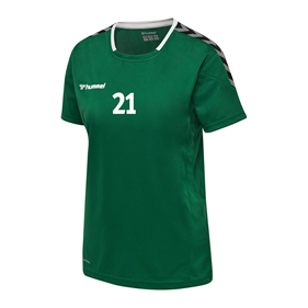 HUMMEL AUTHENTIC POLY JERSEY WN´S SS EVERGREEN L