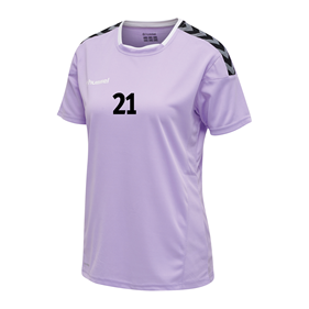 HUMMEL AUTHENTIC POLY JERSEY WN´S SS LAVENDULA L