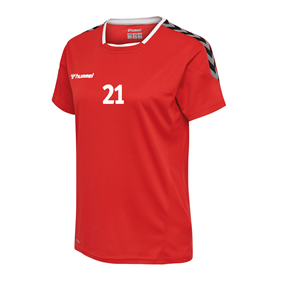 HUMMEL AUTHENTIC POLY JERSEY WN´S SS TRUE RED L