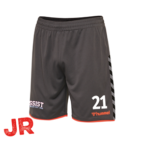 HUMMEL AUTHENTIC POLY SHORTS ASPHALT JR 116 CL