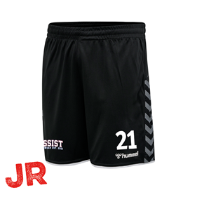 HUMMEL AUTHENTIC POLY SHORTS BLACK JR 116 CL