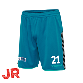 HUMMEL AUTHENTIC POLY SHORTS CELESTIAL JR 116 CL