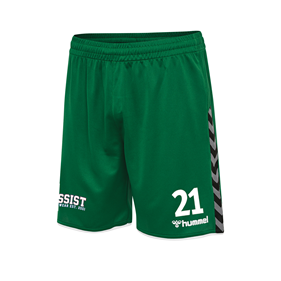 HUMMEL AUTHENTIC POLY SHORTS EVERGREEN L