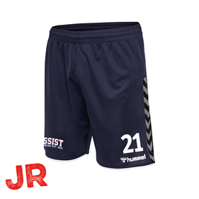 HUMMEL AUTHENTIC POLY SHORTS MARINE JR 116 CL