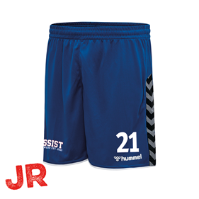 HUMMEL AUTHENTIC POLY SHORTS TRUE BLUE JR 116 CL