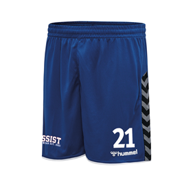 HUMMEL AUTHENTIC POLY SHORTS TRUE BLUE L