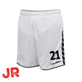 HUMMEL AUTHENTIC POLY SHORTS WHITE JR 116 CL