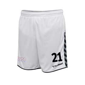 HUMMEL AUTHENTIC POLY SHORTS WHITE L