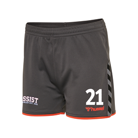 HUMMEL AUTHENTIC POLY SHORTS WN´S ASPHALT L