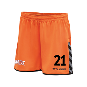 HUMMEL AUTHENTIC POLY SHORTS WN´S TANGERINE L