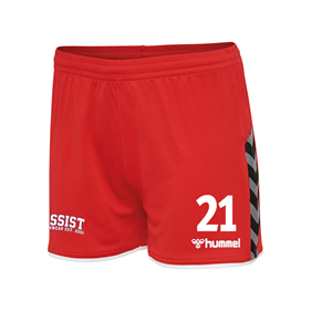HUMMEL AUTHENTIC POLY SHORTS WN´S TRUE RED L