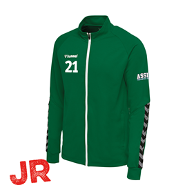 HUMMEL AUTHENTIC POLY ZIP JACKET EVERGREEN JR 116 CL
