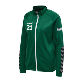 HUMMEL AUTHENTIC POLY ZIP JACKET WN´S EVERGREEN L