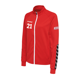 HUMMEL AUTHENTIC POLY ZIP JACKET WN´S TRUE RED L