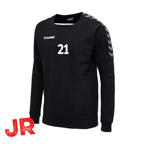 HUMMEL AUTHENTIC TRAINING SWEAT BLACK JR 116 CL