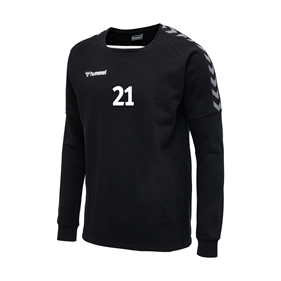 HUMMEL AUTHENTIC TRAINING SWEAT BLACK L