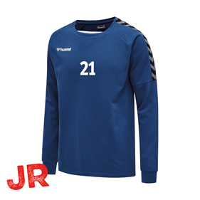 HUMMEL AUTHENTIC TRAINING SWEAT TRUE BLUE JR 116 CL