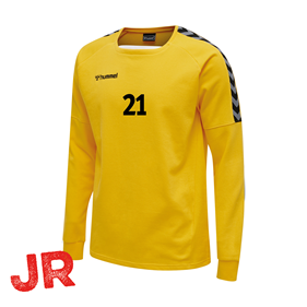 HUMMEL AUTHENTIC TRAINING SWEAT YELLOW JR 116 CL