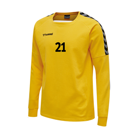 HUMMEL AUTHENTIC TRAINING SWEAT YELLOW L