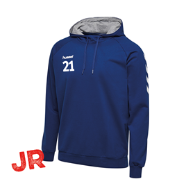 HUMMEL GO COTTON HOODIE TRUE BLUE JR 116 CL