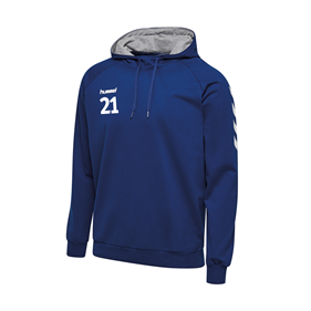 HUMMEL GO COTTON HOODIE TRUE BLUE L
