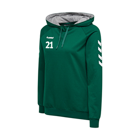HUMMEL GO COTTON HOODIE WN´S EVERGREEN L