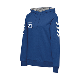 HUMMEL GO COTTON HOODIE WN´S TRUE BLUE L