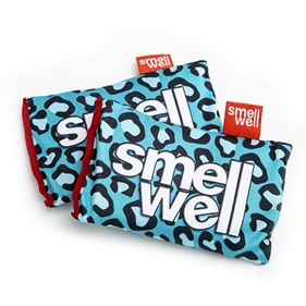 SMELLWELL BLUE LEOPARD 2-PACK