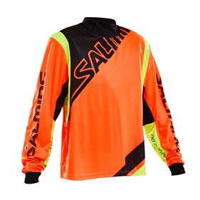 SALMING PHOENIX GOALIE JSY SR ORANGE M