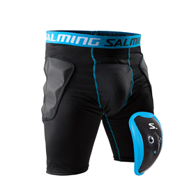 SALMING PROTECH GOALIE SHORTS S