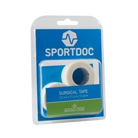 SPORTDOC SURGICAL TAPE 2-PACK