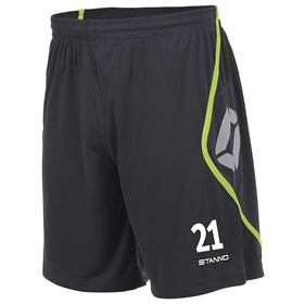 STANNO PISA SHORT ANTHRACITE-NEON YELLOW L