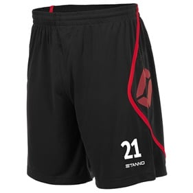 STANNO PISA SHORT BLACK-RED L