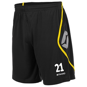 STANNO PISA SHORT BLACK-YELLOW L