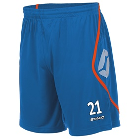 STANNO PISA SHORT BLUE-SHOCKING ORANGE L