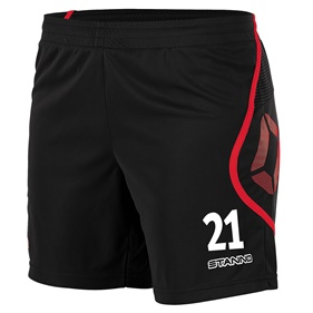 STANNO PISA SHORT DAM BLACK-RED M