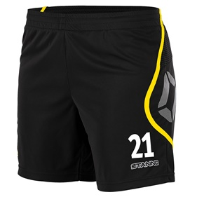 STANNO PISA SHORT DAM BLACK-YELLOW L