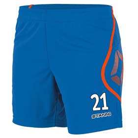 STANNO PISA SHORT DAM BLUE-SHOCKING ORANGE L